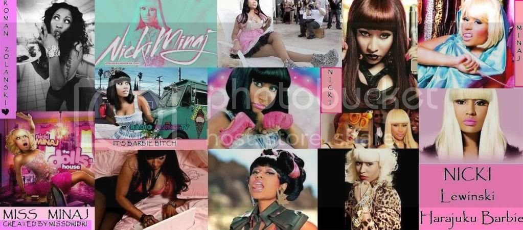 nicki minaj collage Pictures, Images and Photos